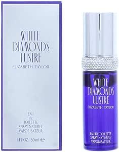 Elizabeth Taylor Elizabeth Taylor White Diamonds Lustre Eau de Toilette, 30ml