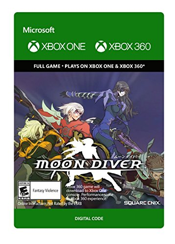 Moon Diver - Xbox 360 [Digital Code] by Square Enix Limited