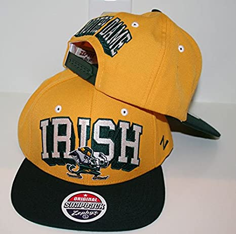 fe91871094a51 Amazon.com   ZHATS University of Notre Dame ND Fighting Irish Gold ...