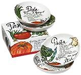 Rosanna Pasta Italiana Pasta Bowls Set of 4