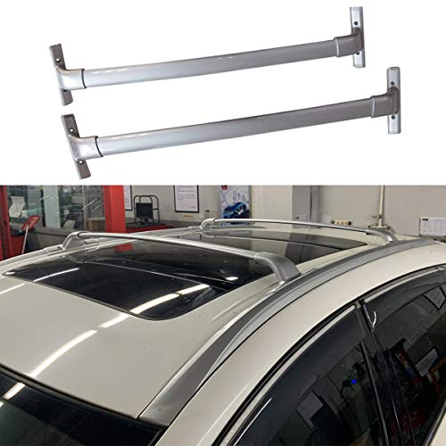 ANTS PART 2Pcs for 2015-2020 Nissan Murano Aluminum Roof Rack Cross Bar Top Rails Luggage Carrier (Silver)