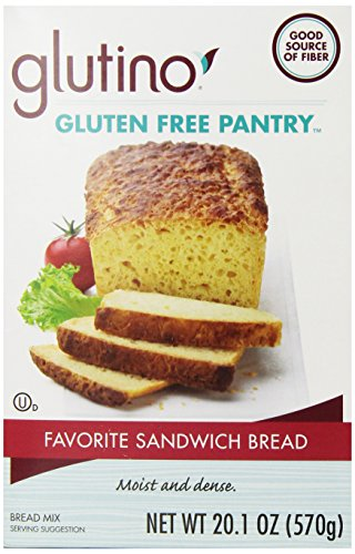 Glutino Gluten Free Pantry Favorite Sandwich Bread Mix, 20.1 ()