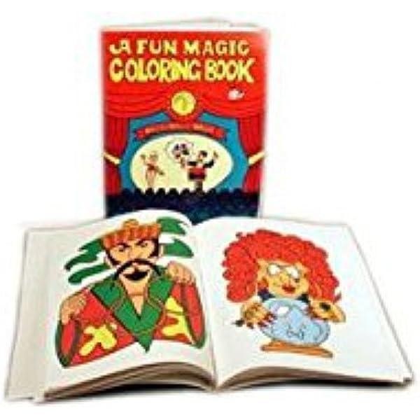 Amazon.com: Royal Magic Coloring Book - Easy Magic Trick: Toys & Games