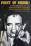 img - for Point of Order!: A Documentary of the Army-McCarthy Hearings book / textbook / text book