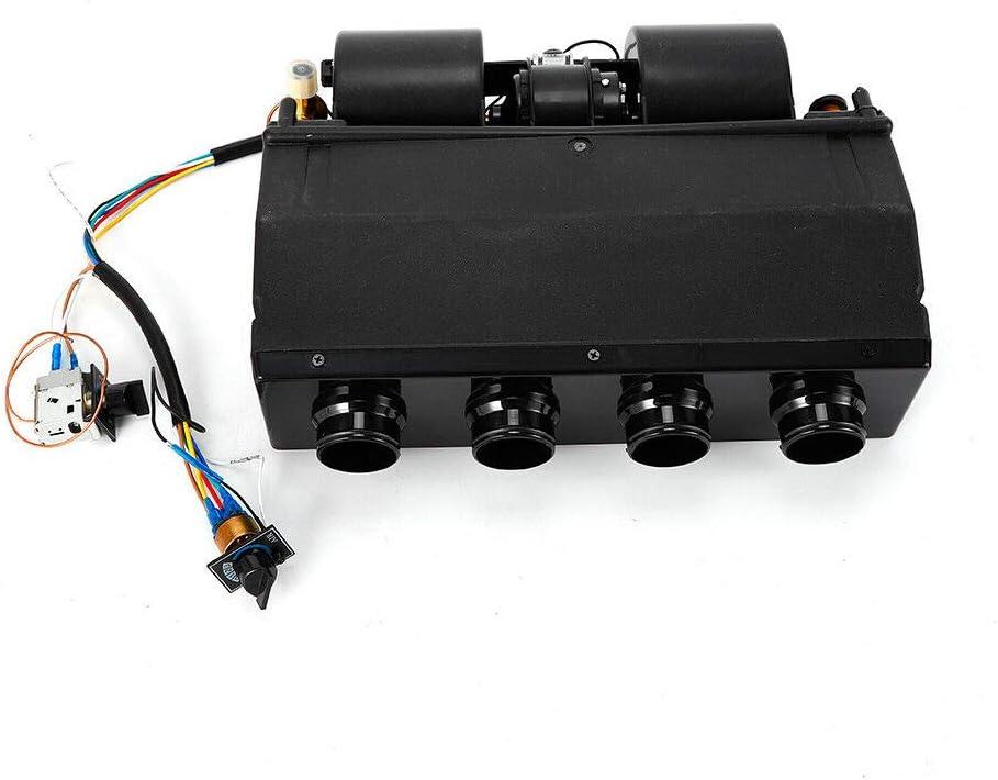 Universal Under Dash AC Evaporator Underdash A//C Air Conditioner Heater Unit Heat /& Cool 404-000 4 port 12V