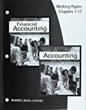 img - for Working Papers, Chapters 1-17 for Warren/Reeve/Duchac s Accounting, 27th and Financial Accounting, 15th book / textbook / text book