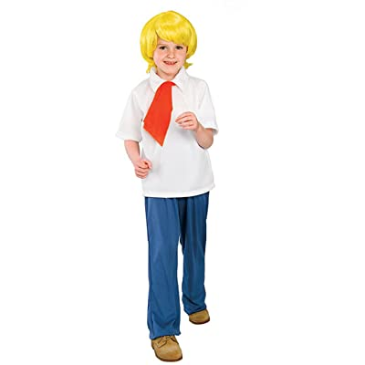 Scooby-Doo Fred Halloween Costume - Large: Clothing