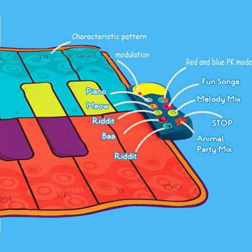 QXMEI Children's Music Piano Blanket Sports Fitness Blanket Dance Mat Fun Games by QXMEI (Image #3)