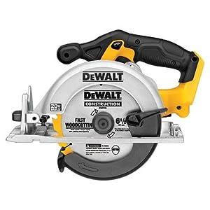 DeWalt DCS391B 20 Volt MAX Circular Saw With Overmolded Grips, by DeWalt