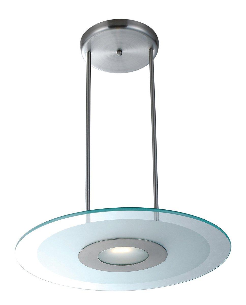 contemporary bathroom helius lighting. Helius Lighting. Access Lighting 50484-BS/CFR One Light Pendant, Brushed Contemporary Bathroom H