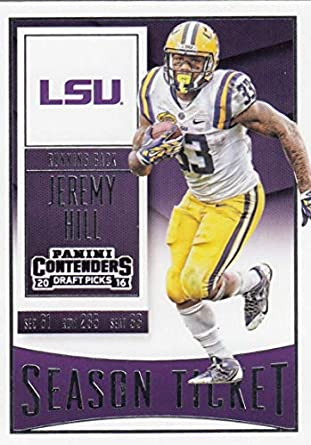 2016 Contenders Draft Picks Football Season Ticket  48 Jeremy Hill LSU  Tigers Official NCAA Trading 1be2d6749
