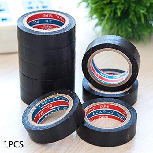Nastro adesivo in plastica ignifugo isolante nero elettricista a filo elettrico Nastro autoadesivo impermeabile in PVC ad alta tensione