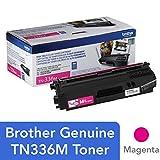 Brother TN-336M DCP-L8400 L8450 HL-L8250 L8350 MFC-L8600 L8650 L8850 Toner Cartridge (Magenta) in Retail Packaging
