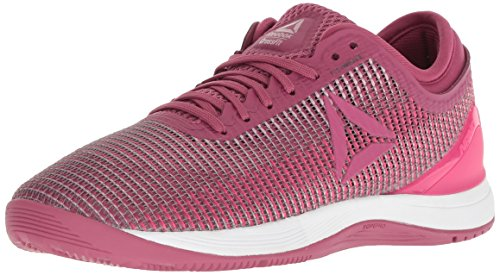 Reebok Women's CROSSFIT Nano 8.0 Flexweave Cross Trainer, Twisted Berry/Twisted Pink, 9 M US