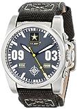 Wrist Armor Men's WA201 C1 Stainless Steel Analog Display Swiss Quartz Watch with Green Canvas Strap offers