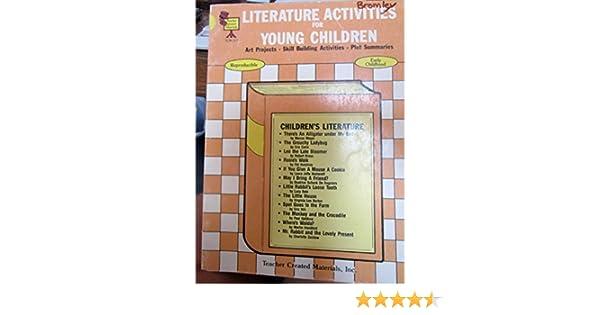Literature Activities for Young Children: Dianna Sullivan ...
