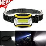 WALLER PAA Outdoor Super Bright Waterproof LED 3 Modes AAA Headlamp Head Torch Light