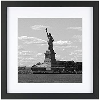 Amazon.com - One Wall Upgraded Tempered Glass 11x11 Square Picture ...