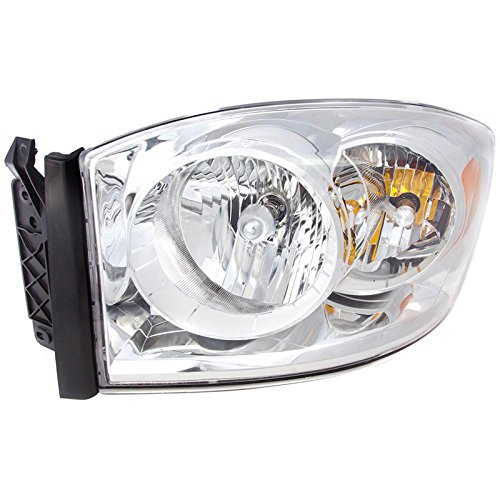 TYC 20-6874-00 2007 2008 Dodge Ram Head Light Laramie Slt Sport Lh (2007 Dodge Ram Laramie)
