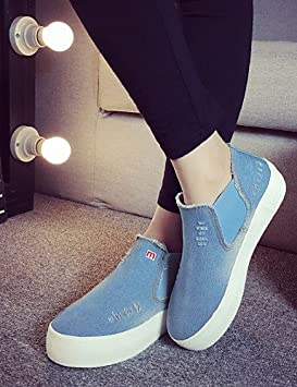 Plateforme femmes chaussures Comfort plateforme Creepers Comfort chaussures pointe 763fec