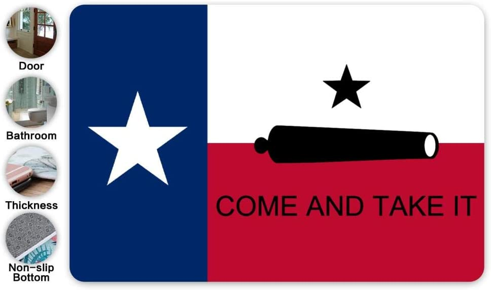 """/""""Come and Take It/"""" Texas Shaped  Decorative Sign"""
