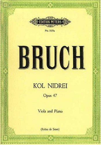 Kol Nidrei Op 47. Viola, Klavier
