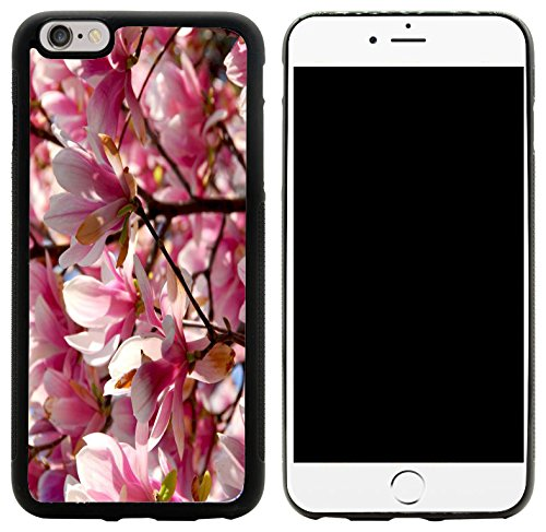 Rikki Knight Hybrid Case Cover for iPhone 6 Plus & 6s Plus - Blooming Magnolia Flowers Design