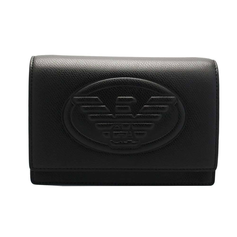 Emporio Armani Femmes sac à bandoulière logo Noir Y3B086YH18A_SS18