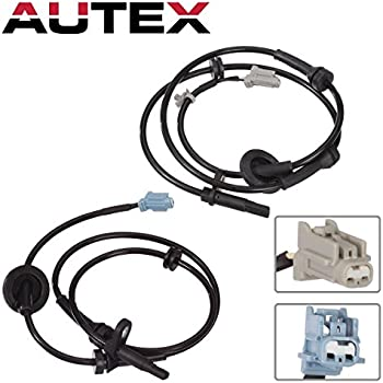 Speed Sensor Set For 2005-2010 Jeep Grand Cherokee w//Harness Front LH /& RH 2-Pcs