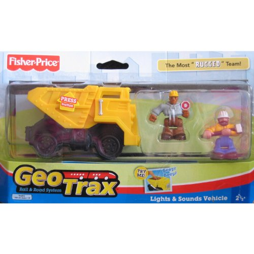 Geo Trax Rail & Road System: Hefty, Grant & Norm The Most