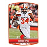 196a1091e74 2018 Panini NFL Stickers Collection #103 Carlos Hyde Cleveland Browns  Official.