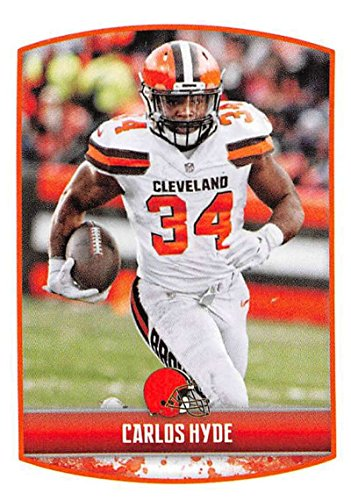 2018 Panini NFL Stickers Collection #103 Carlos Hyde Cleveland Browns Official Football Sticker
