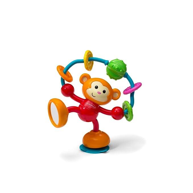 Multi-Colour Nuby Silly Spinwheel Highchair Toy