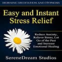 Easy and Instant Stress Relief: Reduce Anxiety, Relieve Stress, Let Go of the Past and Increase Emotional Healing Speech by  SereneDream Studios Narrated by  SereneDream Studios