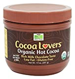 NOW Foods Cocoa Lovers Organic Hot Cocoa, 14 Ounce