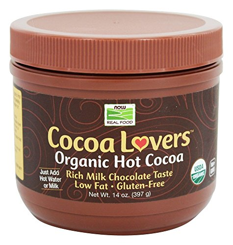 NOW Foods Cocoa Lovers Organic Hot Cocoa, 14 Ounce -  6671