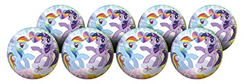 Hedstrom My Little Pony Playball Party Pack, 10 Inch, 8 Balls by Hedstrom