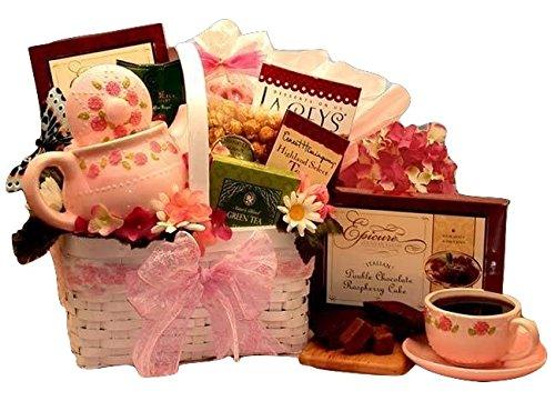 A Tea Lovers Little Rose Tea Pot Gift Set - Great Mother's...