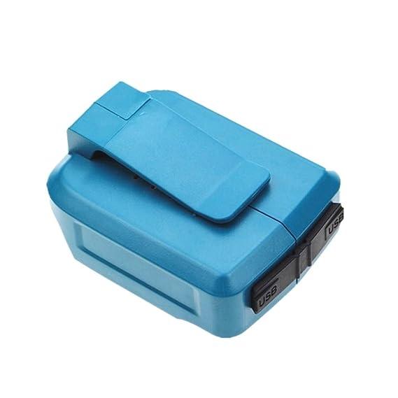 Amazon.com: Conversión de Makita paquete de batería 14,4 V o ...