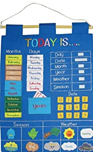 Children S Today Is Fabric Wall Hanging Chart Amazon Co