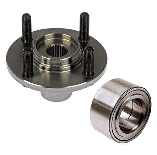 Single FRONT Left or Right Wheel Hub & (KOYO) Bearing Fit 1992-2000 HONDA CIVIC (EX COUPE, SI not fit EX SEDAN NON-ABS)
