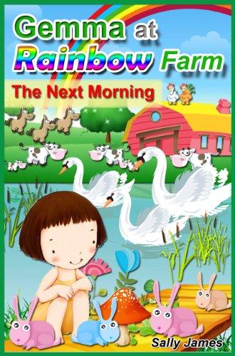 Gemma At Rainbow Farm.  The Next Morning.