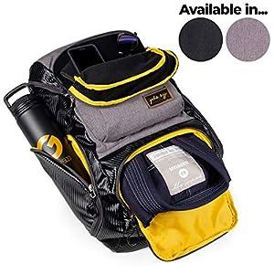 Gold BJJ Jiu Jitsu Backpack – Heavy Duty Gym Bag with Waterproof Gi Pocket