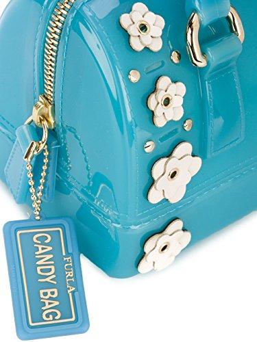 Furla Borsa A Mano Donna 869509 Pvc Azzurro