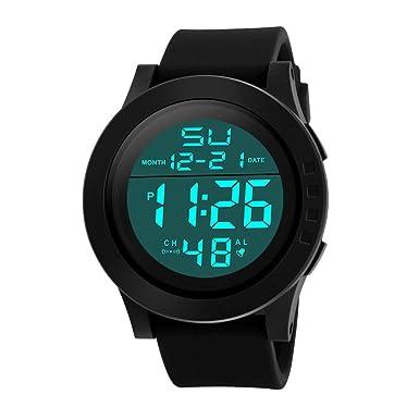 Rcool Relojes suizos relojes de lujo Relojes de pulsera Relojes para mujer Relojes para hombre Relojes deportivos,Reloj deportivo militar de cuarzo ...