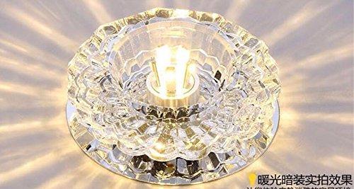 Crystal Gang Lampe Led Kreisformiger Strahl Der Lampe An Der Decke