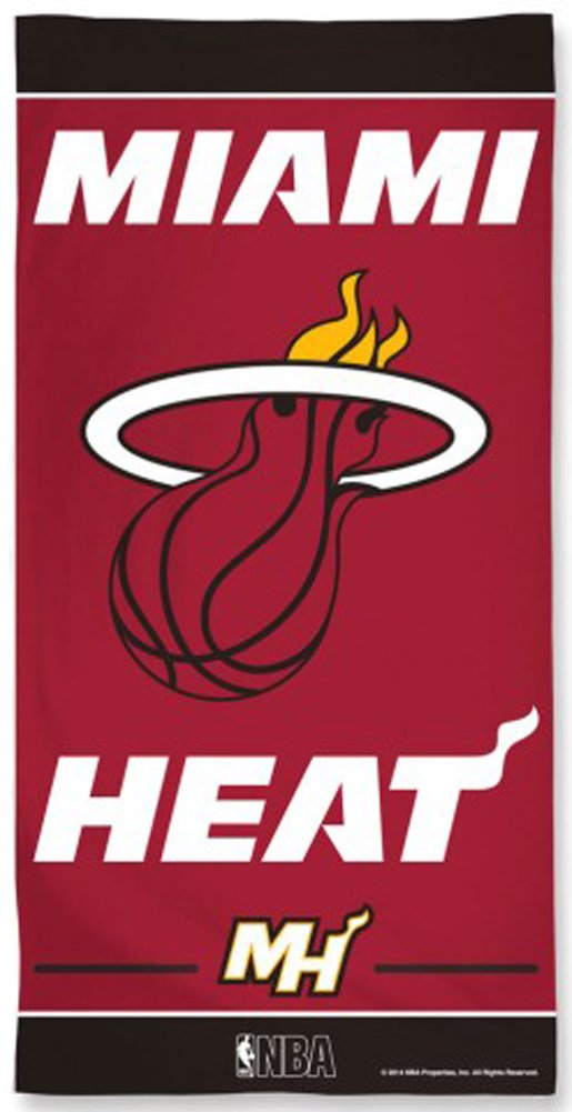 NBA Miami Heat Fiber Beach Towel, 30 x 60-Inch