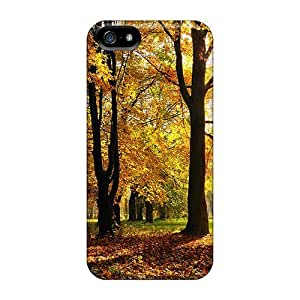 Durable Defender Case For Iphone 5/5s Tpu Cover(autumn Season)
