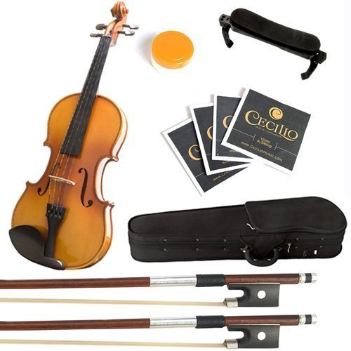 mendini-4-4-mv400-ebony-fitted-solid-wood-violin-with-hard-case-shoulder-rest-bow-rosin-extra-bridge