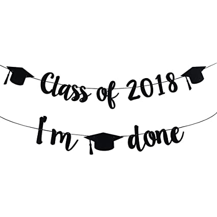 amazon com 2018 congrats signs graduation party decorations class